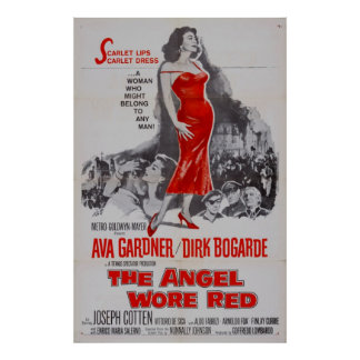 The Angel Wore Red (1960) Print