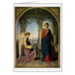 The Angelic Salutation, or The Annunciation, 1860 Greeting Cards