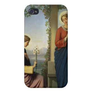The Angelic Salutation, or The Annunciation, 1860 iPhone 4/4S Cover