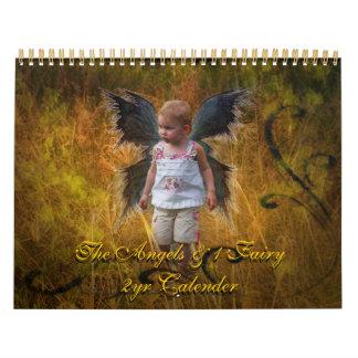 The Angels & 1 Fairy, 2yr Calender Calendar