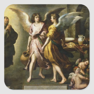 The Angels' Kitchen, 1646 Square Sticker