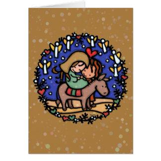 The angels sang at His birth.Jesus.CAMEL Card