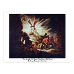 The Angels Will Open The Grave Of Christ Postcards