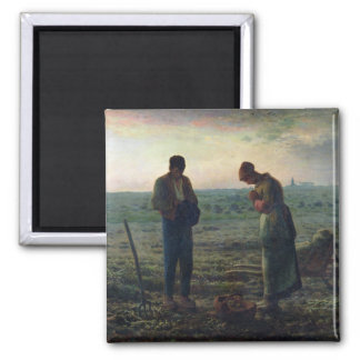 The Angelus, 1857-59 2 Inch Square Magnet