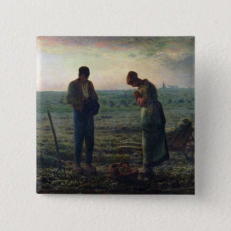 The Angelus, 1857-59 Pinback Button