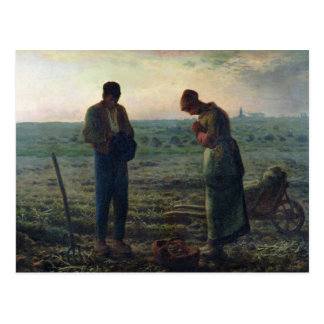 The Angelus 1857-59 Postcard