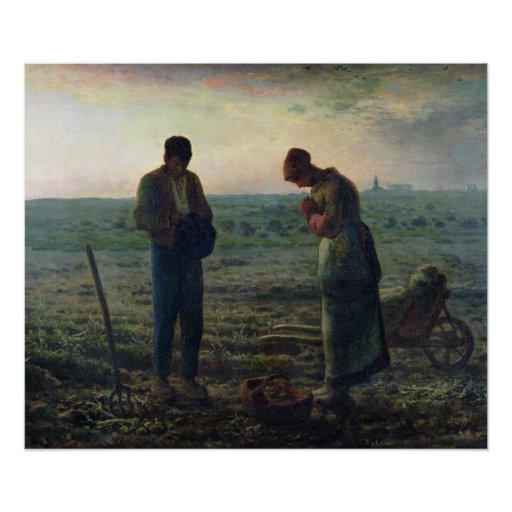 The Angelus, 1857-59 Posters