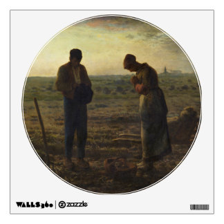 The Angelus by Jean-François Millet Wall Decal