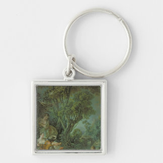 The Angler, 1759 Keychain