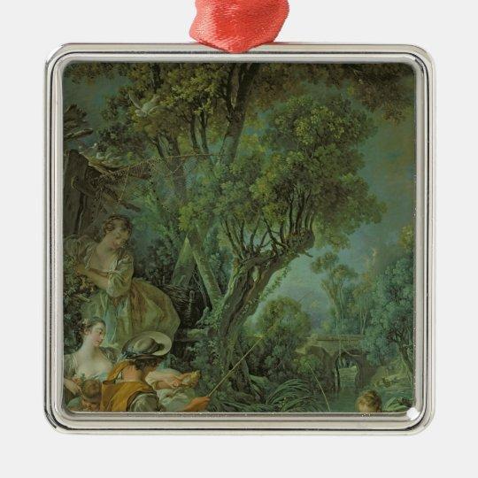 The Angler, 1759 Metal Ornament