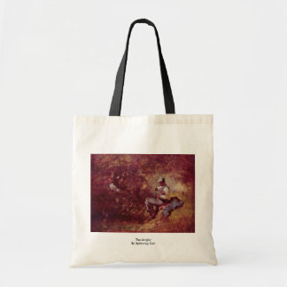The Angler By Spitzweg Carl Budget Tote Bag