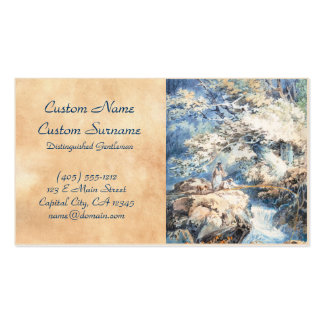 The Angler Joseph Mallord William Turner ART Double-Sided Standard Business Cards (Pack Of 100)