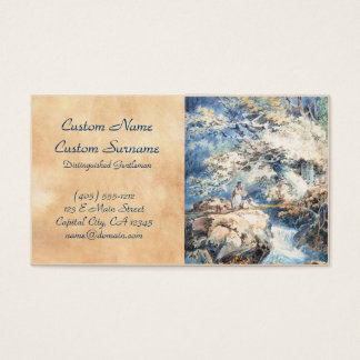 The Angler Joseph Mallord William Turner ART Business Card