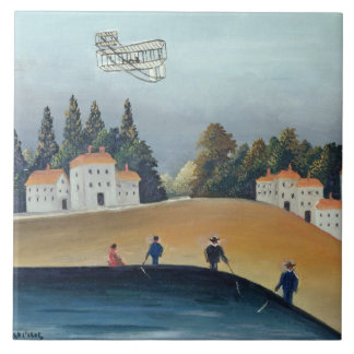 The anglers, c.1908-09 (oil on canvas) ceramic tile