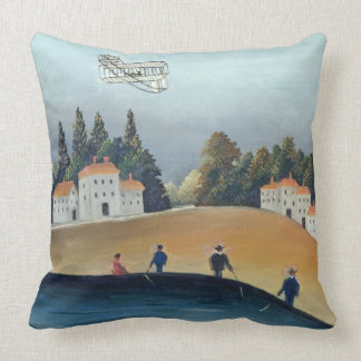 The anglers, c.1908-09 (oil on canvas) pillow