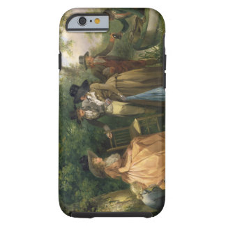 The Angler's Repast (oil on canvas) Tough iPhone 6 Case