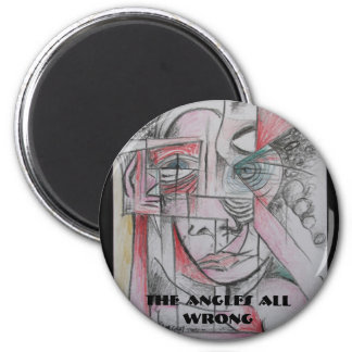 The Angles All Wrong Refrigerator Magnet
