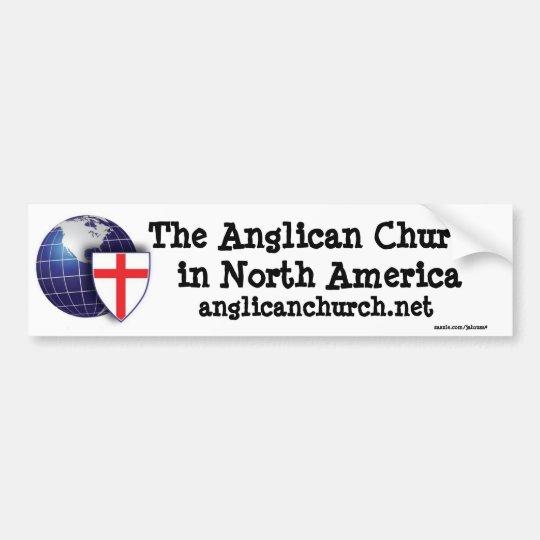 The anglican church of north america bumper sticker