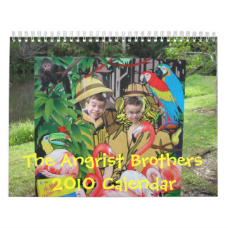 The Angrist Brothers 2010 Calendar