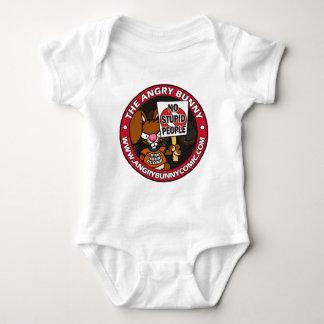 The Angry Bunny Baby Bodysuit