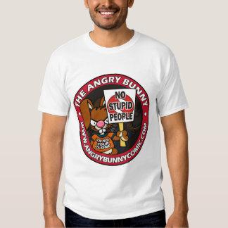 The Angry Bunny Basic Shirt 1