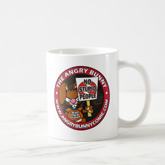 The Angry Bunny Coffee Mug