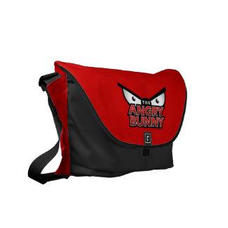 The Angry Bunny Eyes Messenger Bag