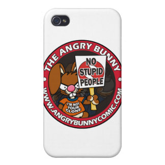 The Angry Bunny iPhone 4 Case
