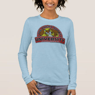 The Angry Bunny University Long Sleeve T-Shirt