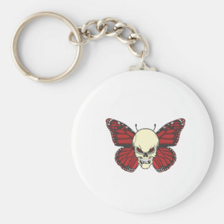The Angry Butterfly of Blood Lust Keychain