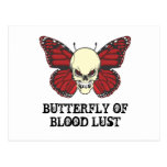 The Angry Butterfly of Blood Lust Postcard