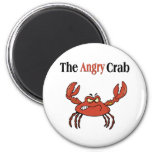 The Angry Crab Fridge Magnet