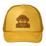 The Angry Donkey Monkey - Customizable Background Trucker Hat