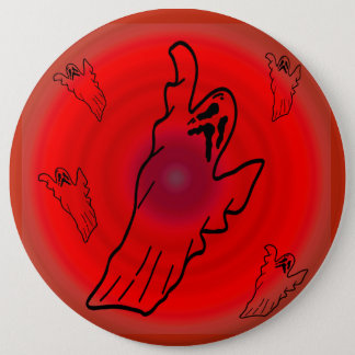 The Angry Ghost - Pinback Button