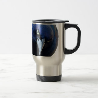 The Angry Grackle Travel Mug