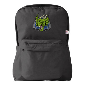 The Angry Green Dragon Backpack