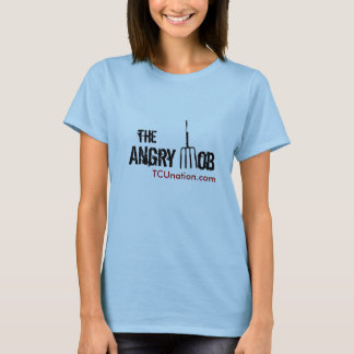 The Angry Mob Front Womens T-Shirt