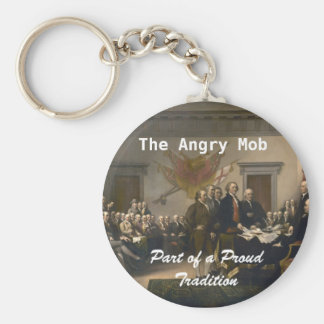 The Angry Mob Keychain