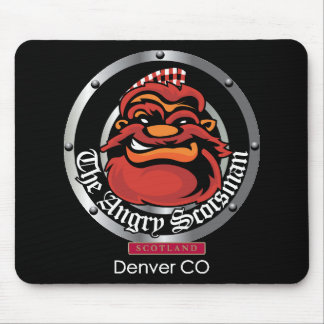 The Angry Scotsman Mouse Pad