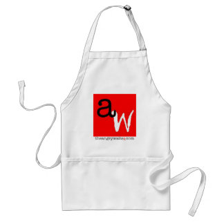 The Angry Waiter Apron - Red Square
