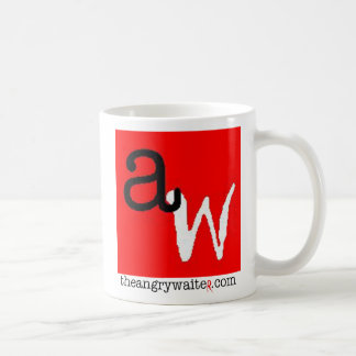 The Angry Waiter Coffee Mug - Red Square