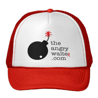 The Angry Waiter Hat - Side Logo