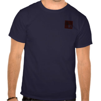 The Angry Waiter T-Shirt- Pocket Red Square