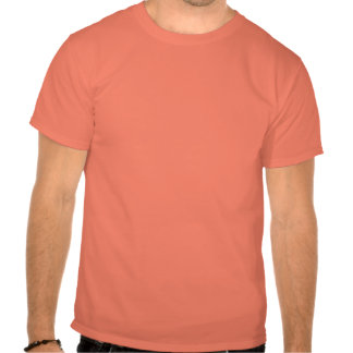 The Angry Waiter T-Shirt - Red Square - Orange