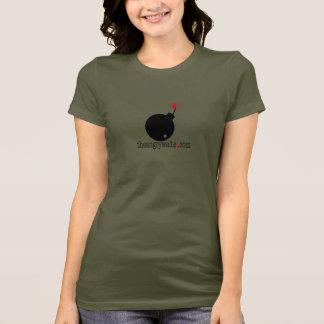 The Angry Waiter Women's T-Shirt - Big Bomb