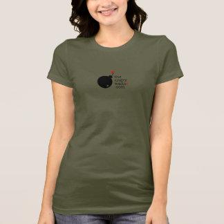 The Angry Waiter Women's T-Shirt - Side Logo