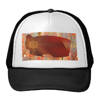 the angry whale trucker hat