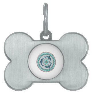 THE ANICENT CREST PET NAME TAG