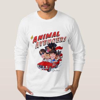 The Animal Avengers Fine Jersey Mens LS T-Shirt