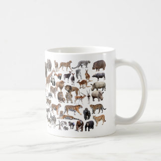 The animal the large quantity the magnetic cup whi